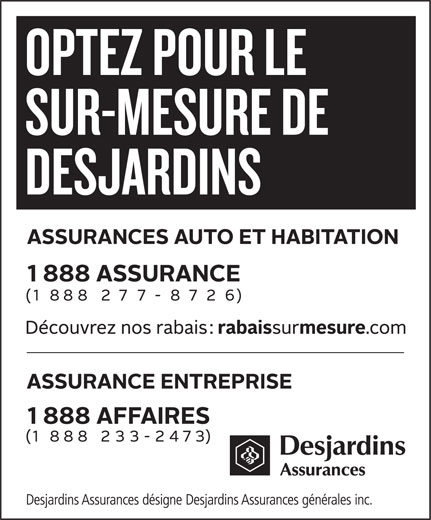 Desjardins transfer address format