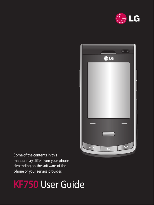 LG user guide phone