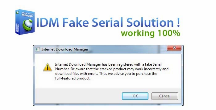 w to get serial number of internet download manager