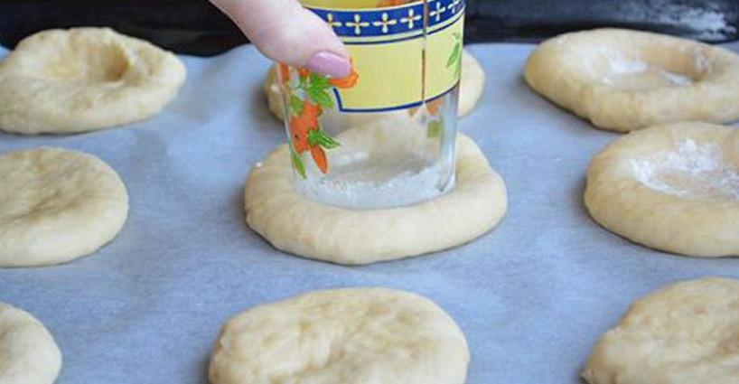 Рецепт ватрушки быстрого приготовления