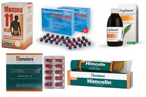 Лекарственные препараты для повышения потенции