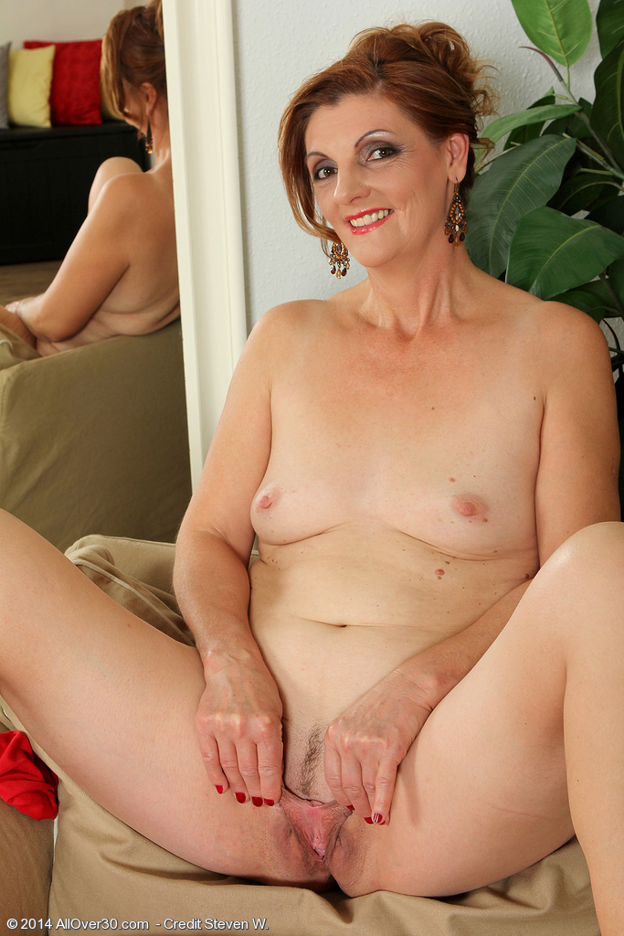 Mature brunette glasses cock