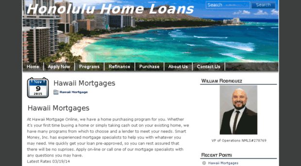 Honolulu home loans careers