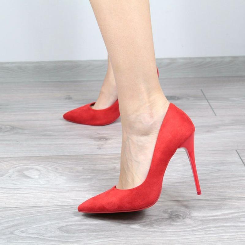 Красные туфли на каблуке в челябинске