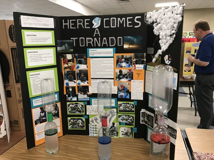 What is a hypothesis for a science fair project tornado in