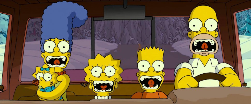 Simpsons movie trailer