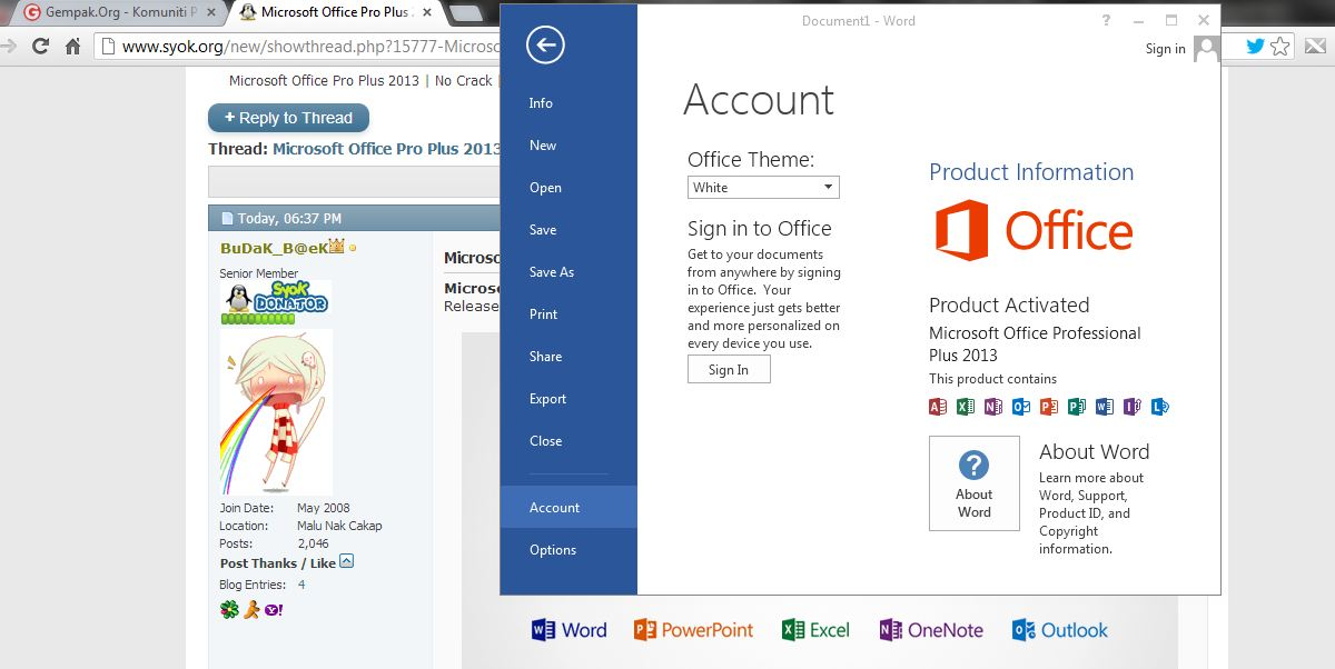 Microsoft Office 2013 Professional Plus Torrent Kickass
