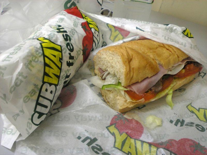 Ресторан Subway - фотография 1
