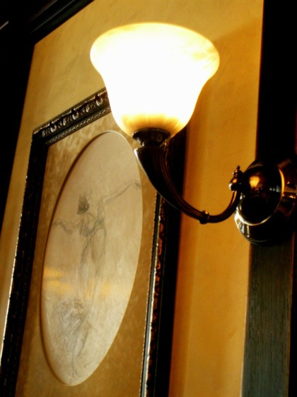 Ресторан Semplice - фотография 5 - Стены