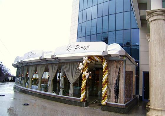 Ресторан La terrazza - фотография 21 - Торжественное открытие ресторана .