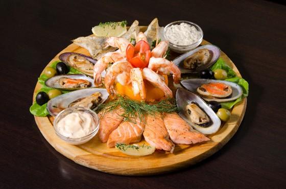 Ресторан Пралине - фотография 11 - Рыбное ассорти