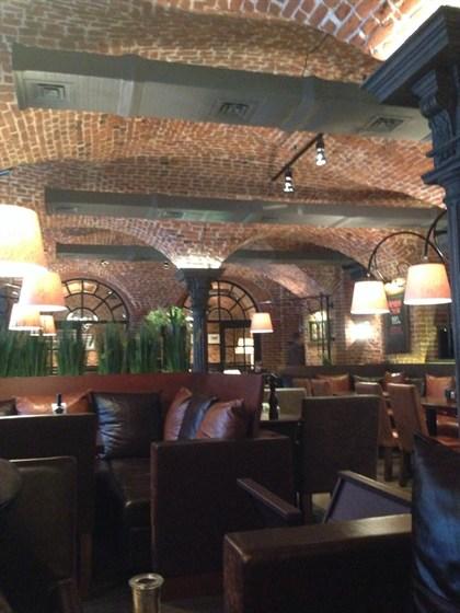 Ресторан Бизон - фотография 10 - Интерьер