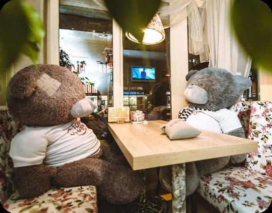 Ресторан Мой кофе - фотография 1 - Мишки Тедди тоже любят Мой Кофе