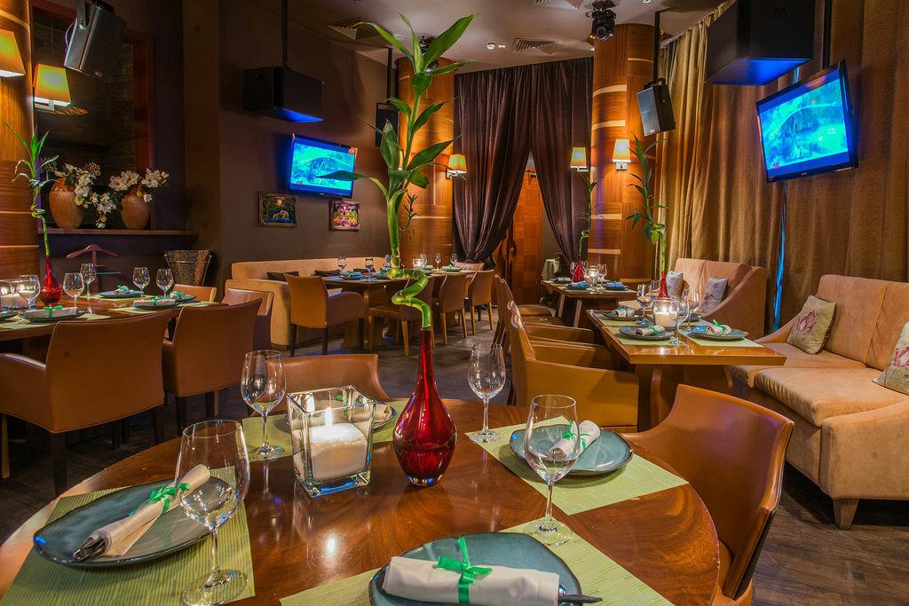 Ресторан Bamboo.Bar - фотография 17