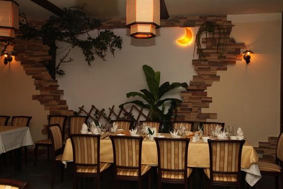 Ресторан Синяя река - фотография 17 - Второй зал