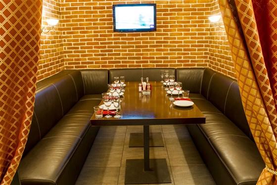 Ресторан Сухой закон - фотография 10 - Нижний зал, VIP