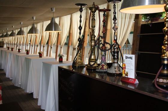 Ресторан Невинный садовник - фотография 2 - сирийские кальяны