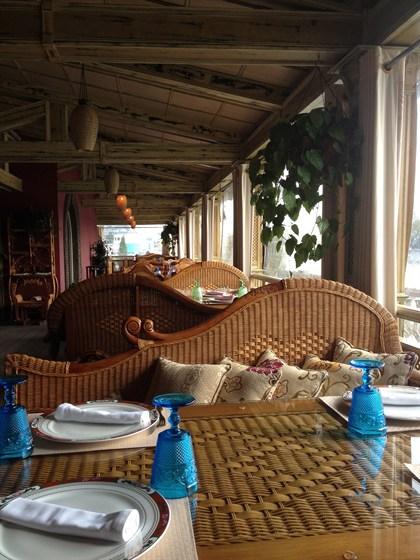 Ресторан Генацвале-сити - фотография 2 - Веранда