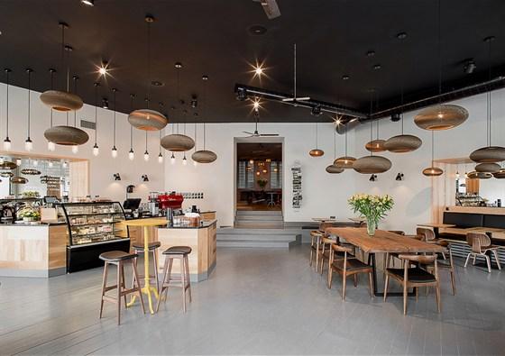 Ресторан Bonch - фотография 1 - Интерьер Bonch Coffee Bar