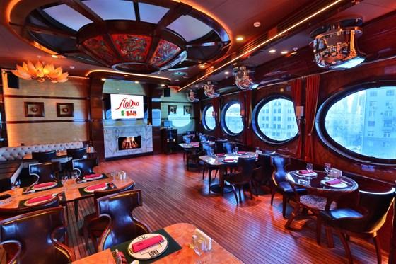 Ресторан Лодка - фотография 11 - Шлюпка - банкетный зал с караоке