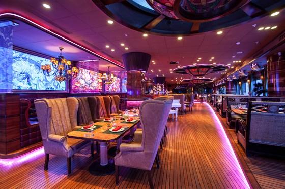 Ресторан Лодка - фотография 37 - Основной зал