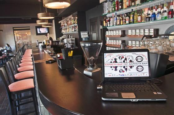Ресторан Бариста - фотография 7 - Free wi-fi и гостевой ноут для всех.