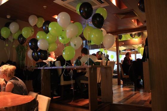 Ресторан Zu Café - фотография 9 - День Рожденья Zu