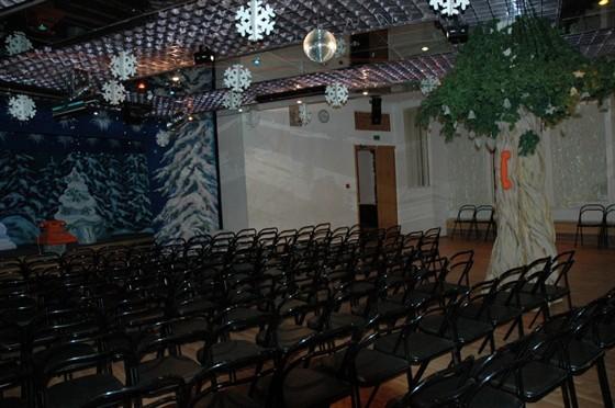 Ресторан Арт-кафе театра «Буфф» - фотография 2 - Малый зал