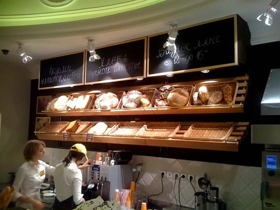 Ресторан Поль-бейкери - фотография 2 - Хлебная Стойка