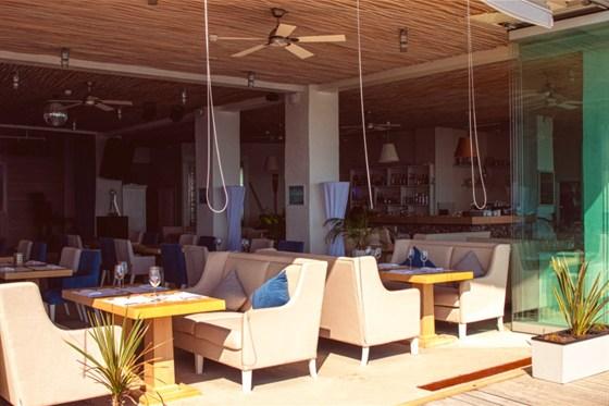 Ресторан Sanremo - фотография 18 - Дизайн и элементы интерьера.