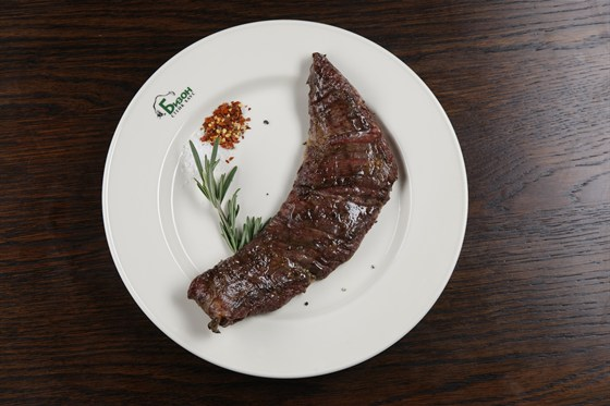 Ресторан Бизон - фотография 3 - стейк Мачете