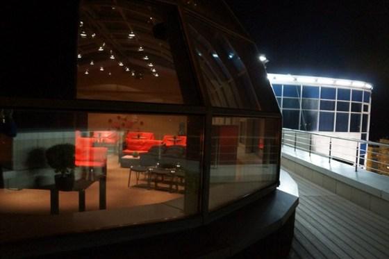 Фото кинотеатр на крыше Volga Plaza