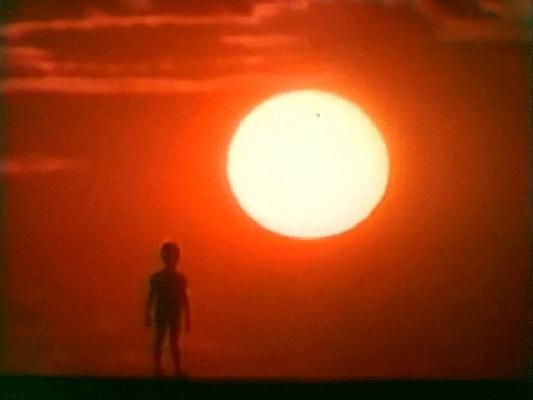 Человек идет за солнцем смотреть фото
