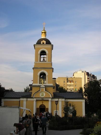 Фото церковь Иконы Божией Матери Гребневская в Одинцово