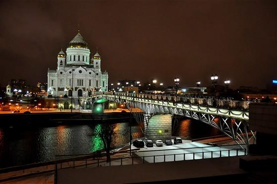 Фото патриарший мост