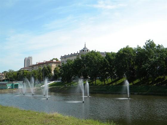 Фото парк Черное озеро