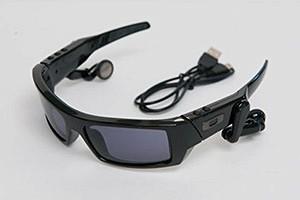 Сомнительное современное устройство: очки со встроенным mp3-плеером
