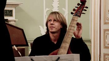 Мария Крестинская (барочная скрипка), Елизавета Панченко (клавесин), Руст Позюмский (виола да гамба)