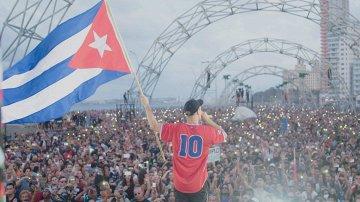 Постер Дай мне будущее: Мейджор Лазер на Кубе