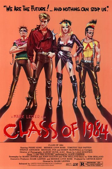 Постер Класс 1984