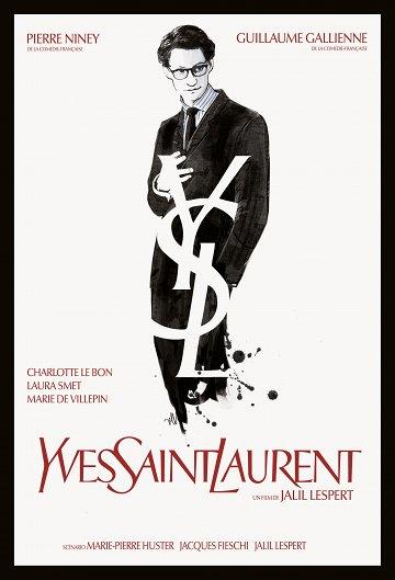 Постер Ив Сен-Лоран