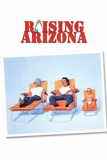 Постер Воспитывая Аризону