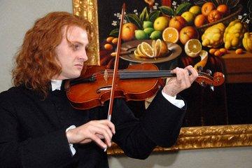 Постер Вивальди. Рыжий священник