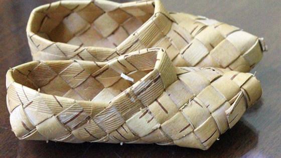 Берестяные плетеные изделия