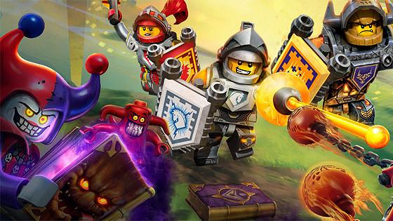 Академия рыцарей Lego Nexo Knights