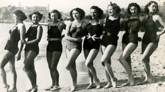Довиль. Пляжная мода эпохи ар-деко