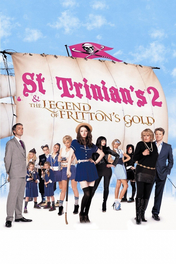 Одноклассницы и тайна пиратского золота (St Trinian's 2: The Legend of Fritton's Gold)
