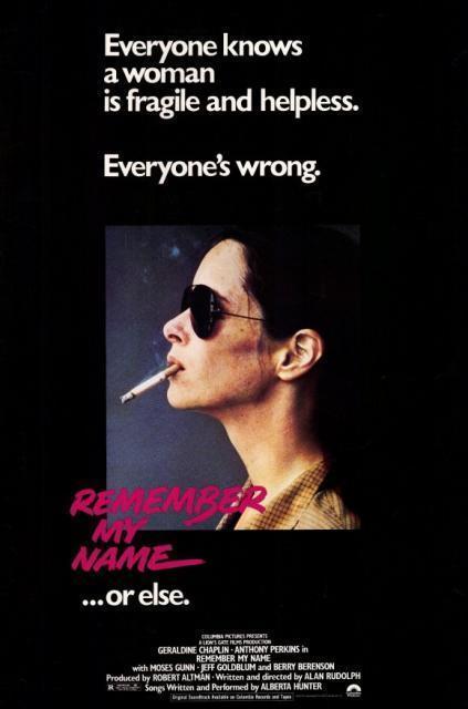 Запомни мое имя (Remember My Name)