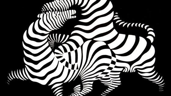 Оптические пространства Виктора Вазарели