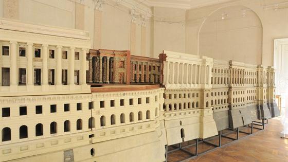 Модель Большого Кремлевского дворца архитектора Василия Баженова
